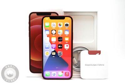 【台南橙市3C】Apple iPhone 12 64G 64GB 紅 IOS 14.4.2 二手蘋果手機 #63638