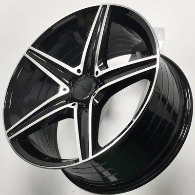 台南新財源馬牌輪胎館【Mahom全新鋁圈】MF56-17吋18吋19吋『5H(孔)/114.3』搭配輪胎另有優惠
