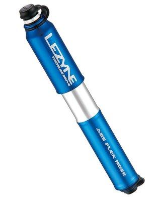 Lezyne Pressure Drive S號 自行車 鋁合金高壓隨車打氣筒 攜帶式打氣筒 兩用美法聰明嘴 洩壓閥 藍