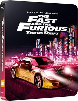 【BD藍光】玩命關頭 3 東京甩尾:限量鐵盒版The Fast And The Furious 3(台灣繁中字幕)