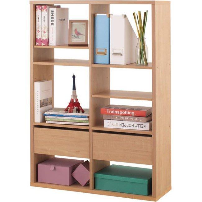 辦公室【家具先生】六格加厚收納櫃(附抽屜&活動板) 置物櫃 櫃子 玄關櫃 邊櫃 隔間櫃 書櫃 書架 展示櫃 2126NA
