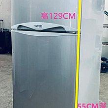 二手雪櫃 (二門) 豐澤 高129CM 95%新 强化玻璃100%正常 免費送及裝,有30天保用