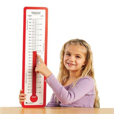 【晴晴百寶盒】美國進口 超大教學溫度計 STEP2 邏輯思維 學習觀察溫度計 角色扮演扮家家酒 環保無毒玩具 W497