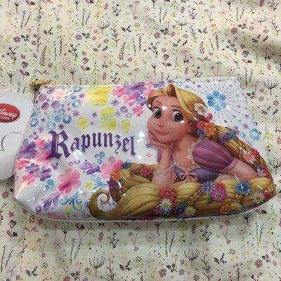 。☆全新☆。日本帶回Disney正版長髮公主化妝包