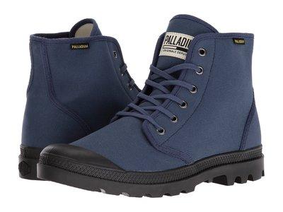 =CodE= PALLADIUM PAMPA HI ORIGINALE 帆布軍靴(藍) 75349-408 經典原創 女 台北市