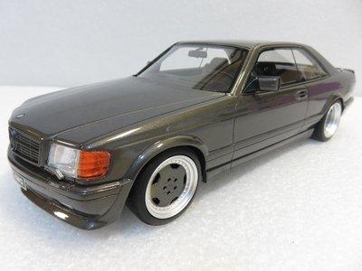 宗鑫貿易 OTTO OT823 Mercedes Benz 560 SEC AMG (C126) 1987 炭灰