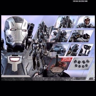 動漫特別版hottoys hot toys diecast ironman war machine special bonus mark 4 iv 全新現貨