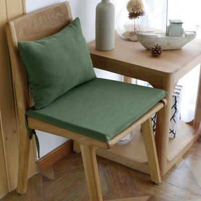 ZIHOPE 懶人椅墊 美式純色紫色暗綠復古做舊彈力靠背加厚餐椅墊椅套坐墊椅墊可ZI812