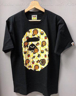 [FDOF] MILO JUNK FOOD BIG APE HEAD TEE 大猿人漢堡MILO 短TEE 日本公司貨