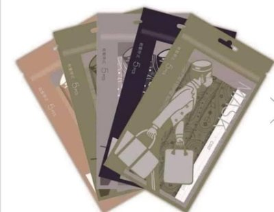 PORTER X中衛CSD聯名口罩(非醫療) 5色各1包衛生用品售出無退