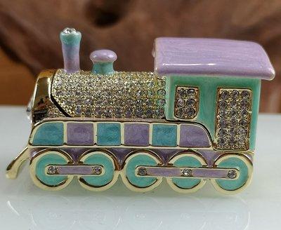 宋家苦茶油dimonmowtoin.1707.復古火車.鑲著斯伐洛克水鑽鑽石.集合各種色彩之美.代表懷舊.氣質.大家風範