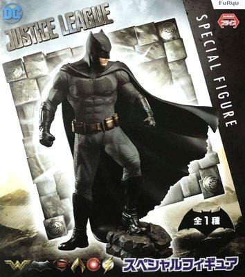 日本正版 景品 FURYU 正義聯盟 蝙蝠俠 SP 公仔 模型 日本代購