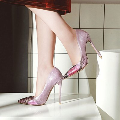 【明良精品】 HSF-Z-31特殊PU皮革/超纖透氣內裡/跟高12cm高跟鞋(正常碼34~39碼=1225元)