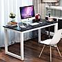 簡約現代鋼木桌家用電腦桌台式桌書桌學生寫...