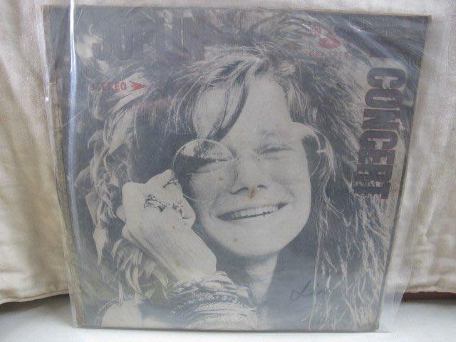 二手舖 NO.3936 黑膠 西洋 Janis Joplin - In Concert 雙唱盤 非復刻版 稀少盤