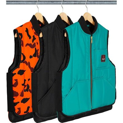 【紐約范特西】預購 SUPREME FW20 RefrigiWear Insulated Iron-Tuff Vest