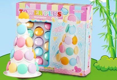 親子益智趣味遊戲~馬卡龍疊疊樂~套杯趣味平衡遊戲~◎童心玩具1館◎