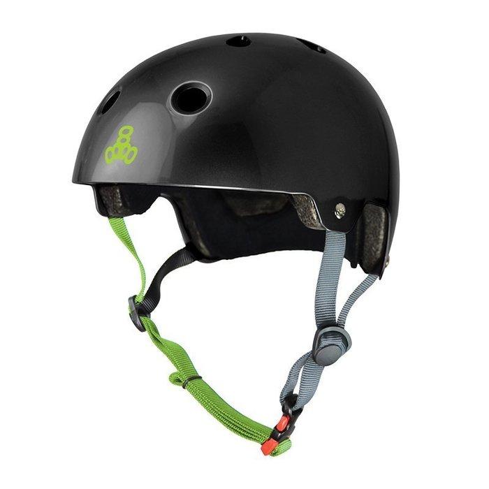 Triple 8 單車(Longboard/ 長板滑板/ 交通板/ 腳踏車/ 直排輪) - 專用強化EPS頭盔
