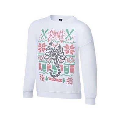 ☆阿Su倉庫☆WWE摔角 Sting Long-Sleeve Fleece Sweatshirt 刷毛保暖長袖T