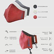 【帽牧屋】預購『成人』淨對流 - 抗霾布織口罩 懸浮粒子 抗紫外線 UPF50+  PM2.5 霧霾 霾害 桃紅