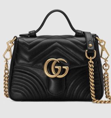 **Ohya精品代購** 2018 全新代購 Gucci 古馳mini top handle bag 547260