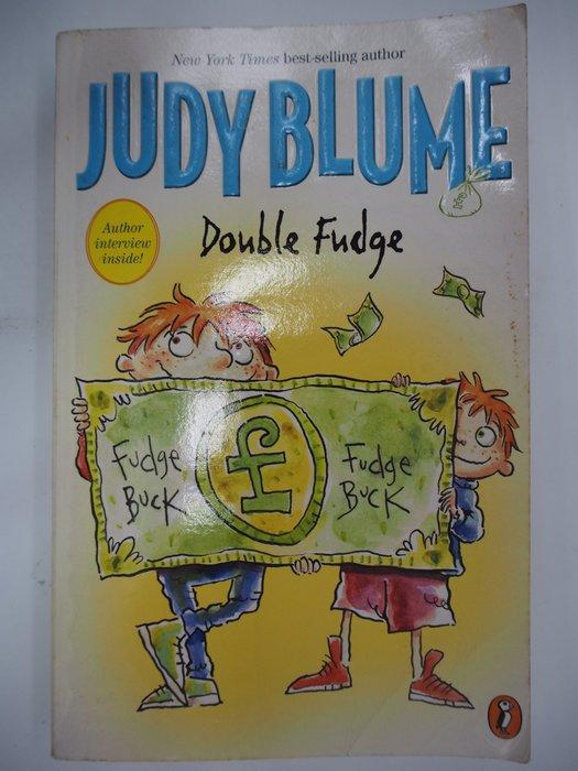 【月界二手書店】Double Fudge_Judy Blume_少年英文小說 〖外文小說〗CIF