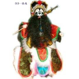 [瑞穗生活館].傳統布袋戲偶--張飛 M01355245〉350