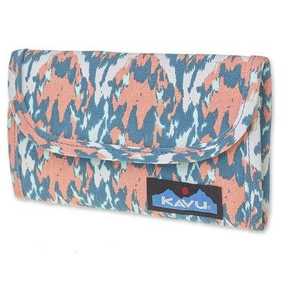 【【蘋果戶外】】KAVU 965-870 海灘油漆 Big Spender 美國潮牌 休閒錢包 皮夾 長夾 潮包 零錢包