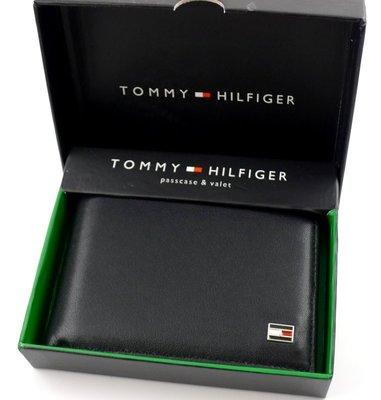 【TOMMY專櫃正品】美國 TOMMY HILIFGER 專櫃購入正品可拆證件套短皮夾禮盒