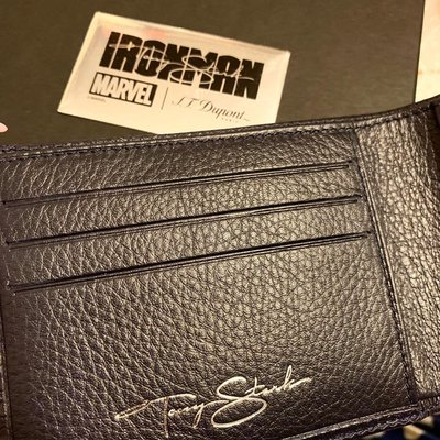 全新 Ironman x S.T. Dupont 銀包 限量版 marvel wallet