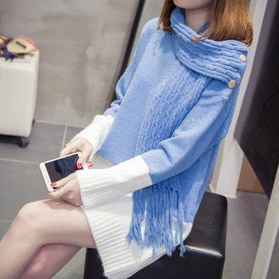 200斤寬鬆大碼孕婦連身裙秋冬裝新款針織中長款孕婦毛衣外穿加厚