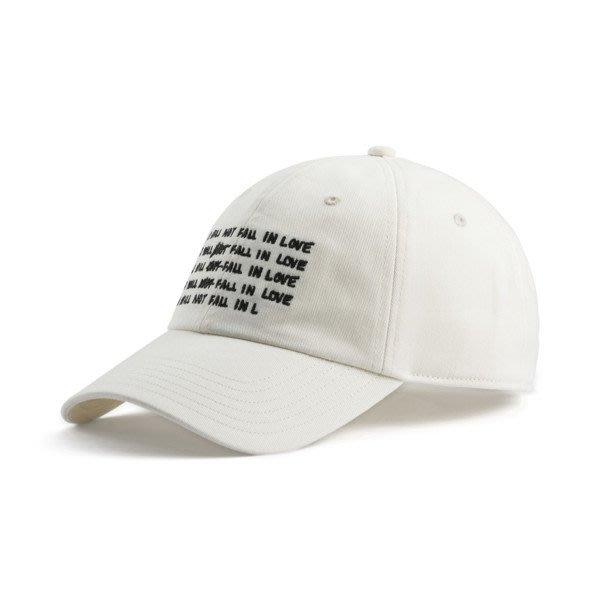 POMELO柚  PUMA SUE TSAI 帽子 棒球帽 運動帽 休閒帽 白色 022370-01