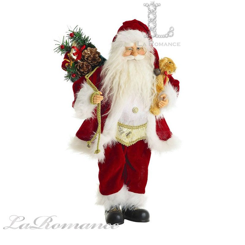 【芮洛蔓 La Romance】 Mindy Brownes - 18吋聖誕老人 / 交換禮物