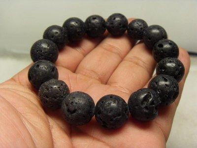 【優質家】天然泰國黑隕石原礦手珠14mm(回饋價便宜賣)限量10組(賣完恢復原價250元)