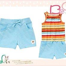 【B& G童裝】正品美國進口Crazy8 Flower Knit Short 印花圖樣藍色短褲12-18mos