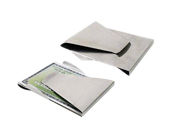 全新 美國 slim clip 不銹鋼 鈔票夾 錢夾 零錢夾 卡片夾 名片
