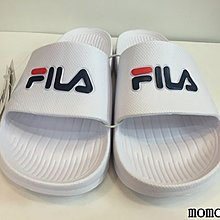 FILA 拖鞋 防水 一體成型 白色 復古 基本款 海邊 4-S355Q113 男女款 請先問庫存