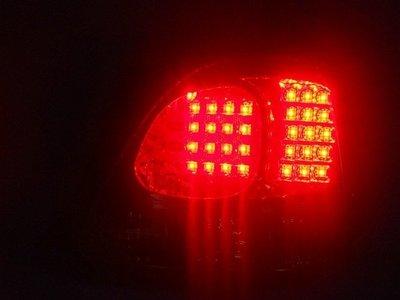 小亞車燈╠ 超優外銷LEXUS-GS300燻黑晶鑽LED尾燈(不亮電腦燈版)