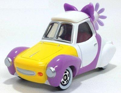 [髒話哥哥] 東京迪士尼 樂園 限定 Disney TOMICA 唐老鴨 黛西 Daisy 小花跑車