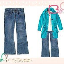 【B& G童裝】正品美國進口Crazy8藍色復古牛仔長褲12號9-10yrs