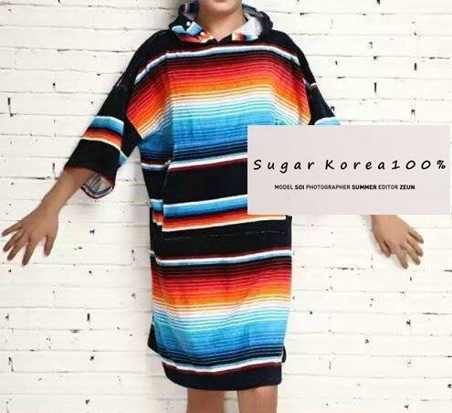 FRUITION衝浪用浴袍ugar Korea100%戶外露營用品/衝浪用浴袍/Sugar Korea100%