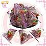 ☆小麻吉家家愛☆粽形葡萄風味QQ糖家庭號經濟包115元 糖果 零嘴 葡萄qq糖 軟糖 喜糖