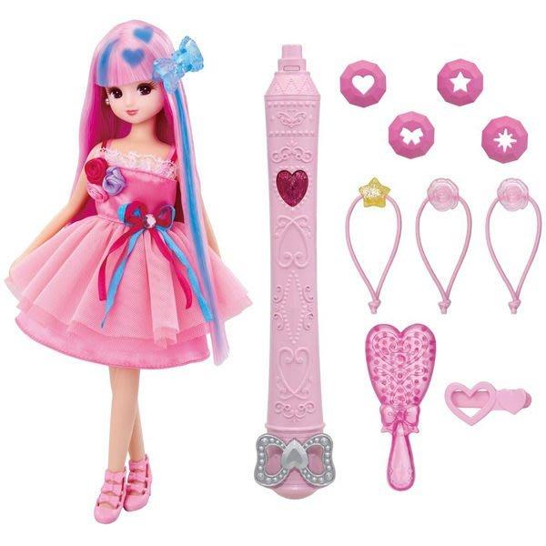 LICCA莉卡娃娃 魔法變髮莉卡娃娃 (包含莉卡娃娃) 88529