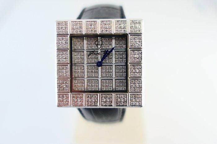 [吉宏精品交流中心]JEWELRY 滿天星 天然鑽石 不鏽鋼 石英 男錶