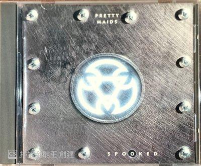 【搖滾帝國】丹麥重金屬Heavy Metal樂團 PRETTY MAIDS Spooked 1997發行 全新專輯