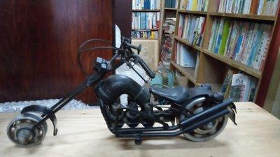 *阿柱的店*鐵皮玩具 摩托車