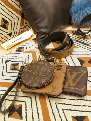 Louis Vuitton Shoulder Strap 肩背帶 老花 / 焦糖