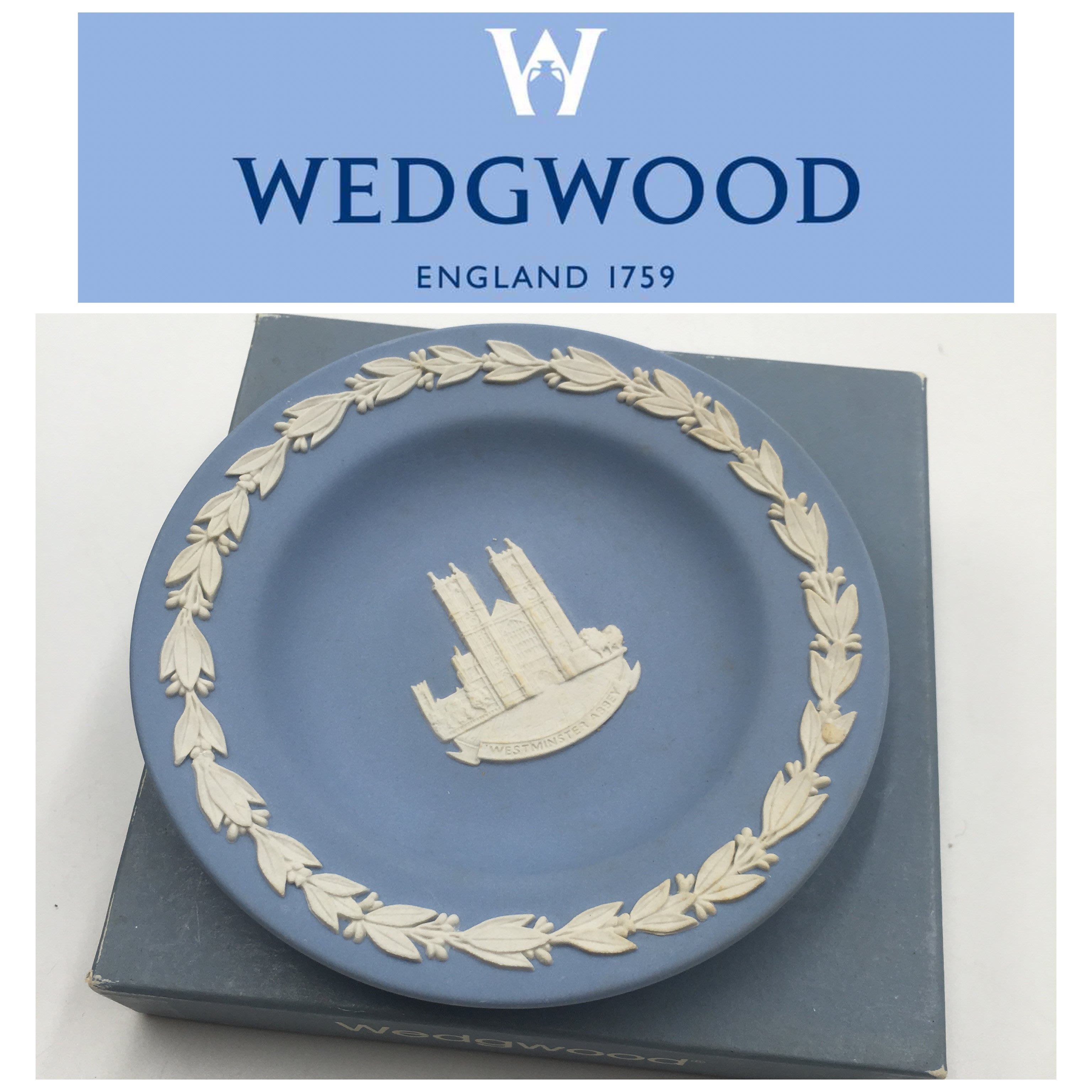 【皮老闆二店】二手真品 WEDGWOOD  盤子 小圓盤 瓷316