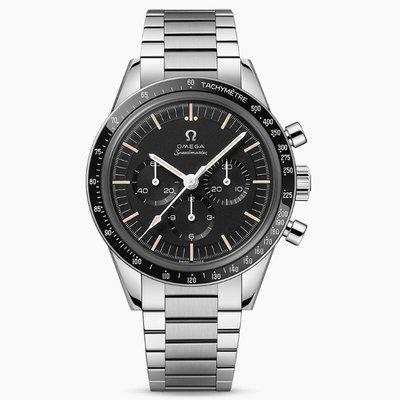 預購 OMEGA 歐米茄 手錶 機械錶 39.7mm 超霸系列 黑面盤 鋼錶帶 311.30.40.30.01.001