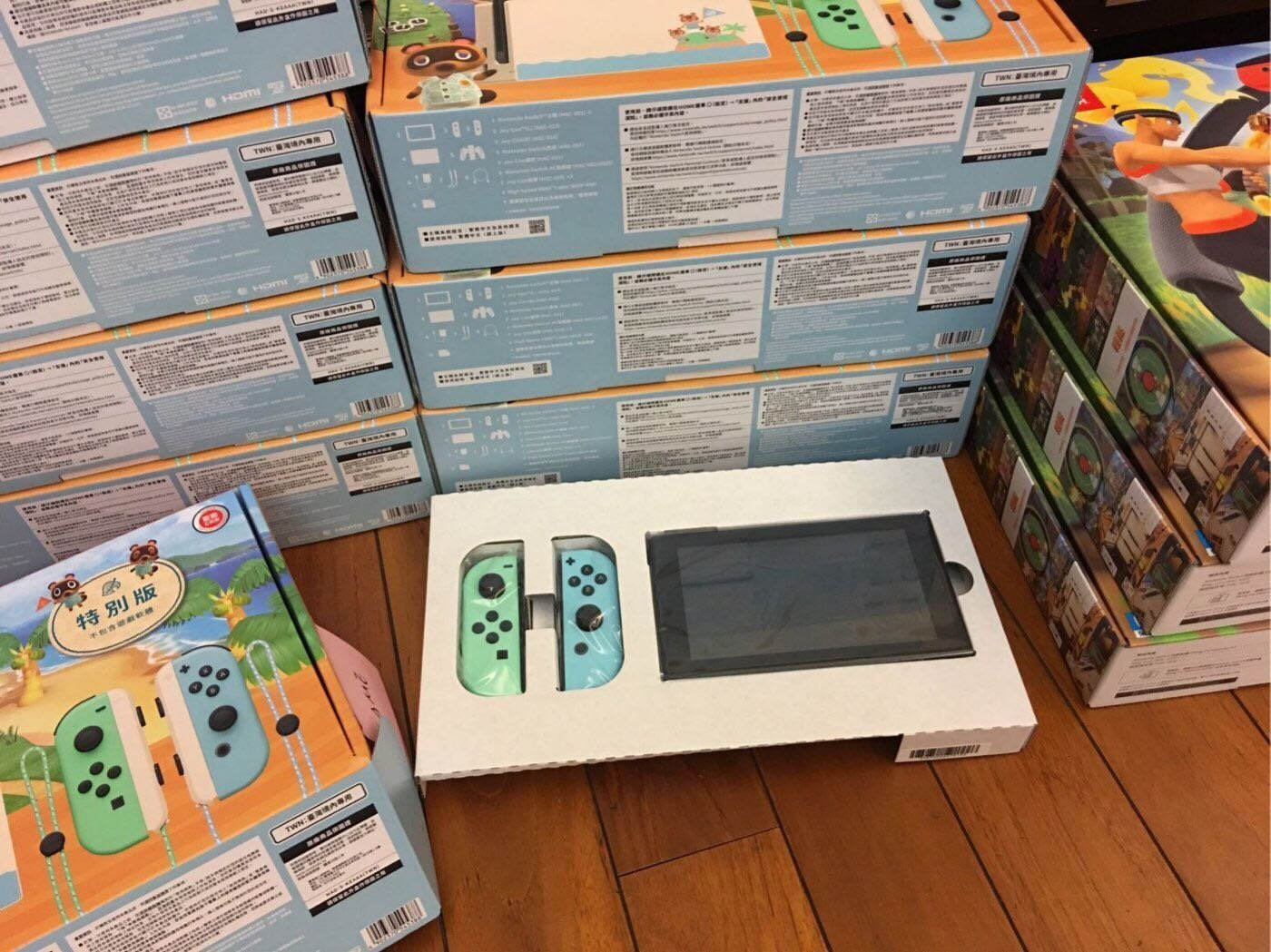 (7/15更新)Nintendo Switch主機 動物森友會 特別版 全新附發票 台灣公司貨